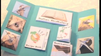 Passport Italy Lapbook Demo