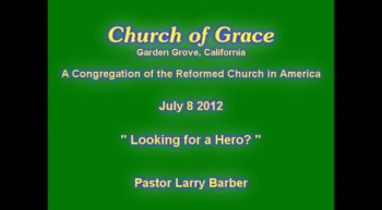 Church of Grace Sermon from July 8 2012.