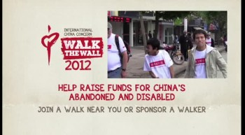 Walk The Wall 2012 in aid of International China Concern