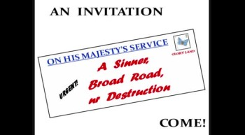 THE GREAT INVITATION - HAVE YOU ANSWERED IT