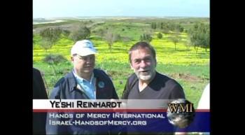 Dr Hansen on the Sderot-Gaza Strip with Israeli Defense Force