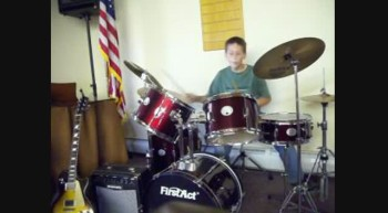 Harpazo Drum Player Does a solo