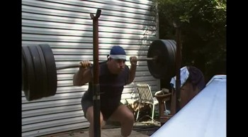 50 year old Christian lifting 400 pounds for 2 reps.