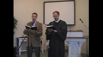 "Special Music: ""Come to the Savior Now,"" Waggoner & MacLaren, 7/22/12 First OPC Perkasie, PA"
