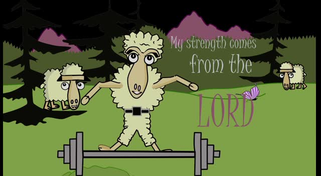 My Strength Comes from the Lord Kids' Video