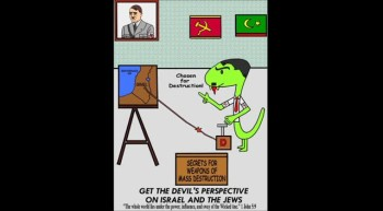 The Cartoon Bible featuring Crafty the Serpent: Get the Devil's Perspective