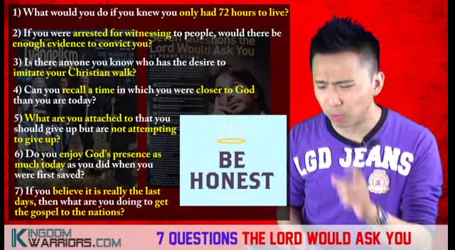 7 Questions God Would Ask You