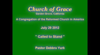 Church of Grace Sermon from July 29 2012.