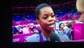 Gabby Douglas Gives God All The Glory