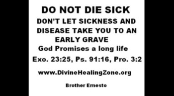 DO NOT DIE SICK