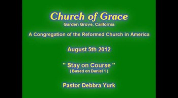 Church of Grace Sermon from August 5 2012.