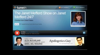 Christian Apologetics - Alex McFarland & Mikel Del Rosario on the Janet Mefferd Show