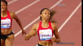 Olympic Runner Allyson Felix Depends on Faith