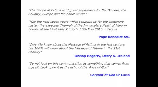 The Call to Fatima - slideshow