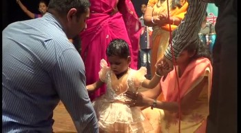 Jesus Heals A Lame Child At Sawantwadi Prayer Meeting