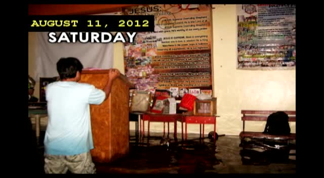 jsos church blg. engulfed in floodwaters (aug6-11,2012)