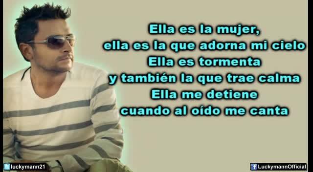 Alex Campos - Bendita Mujercita (Video Letra)