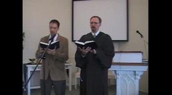 "Special Music: ""When I Survey the Wondrous Cross,"" First OPC Perkasie, PA 8/19/12"