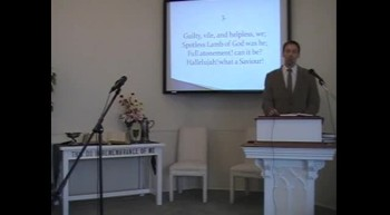 "Congregational Hymn: ""Hallelujah, What a Savior!"" First OPC Perkasie, PA 8/19/12"