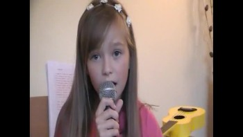 Connie Talbot - Teardrops on my Guitar - Taylor Swift cover