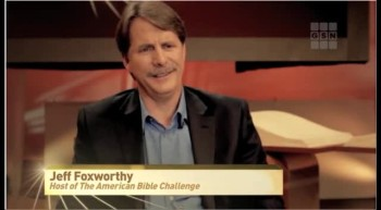 Crosswalk.com Interviews Jeff Foxworthy about His Inspirational New Game Show