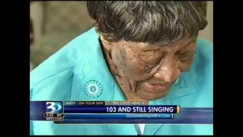 103 Years Old and Still Singing For Jesus - So Inspiring!