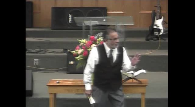 Pastor Rolando Lopez preached at United Baptist Church on 08-12-12