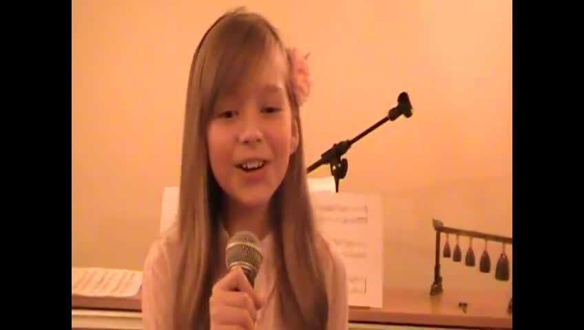 Connie Talbot (aged 10) - Listen