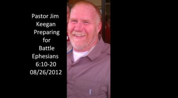 Pastor Jim Keegan at New Life Presbyterian Church 8 26 2012