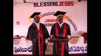 ARM ICM Bible College Graduation Ceremony