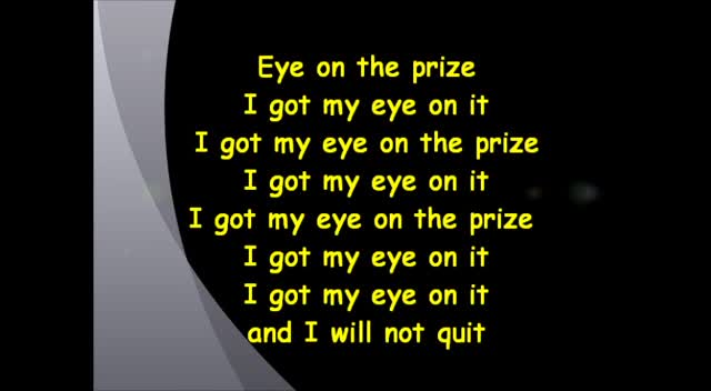 Tobymac Eye On It W/ LYRICS on screen