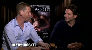 THE WORDS - Bradley Cooper  Brian Klugman interviews