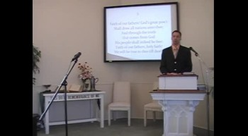 "Congregational Hymn: ""Faith of Our Fathers,"" First Presbyterian Church, Perkasie, PA 9/09/12"