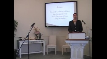 "Congregational Hymn: ""Onward, Christian Soldiers!"" First Presbyterian Church, Perkasie, PA 9/09/12"