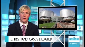News Bulletin 7 September 2012 -- The Christian Institute
