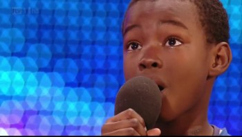 9 Year Old Boy Cries During Audition - Then Amazes the Judges!