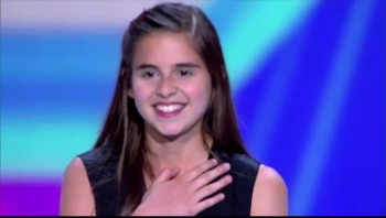 13 Year Old Floors Audience  Judges With Powerful Voice (Carly Rose Sonenclar)