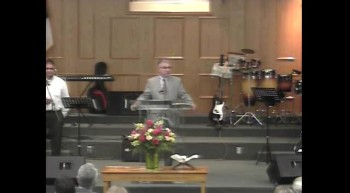 Farewell service for Pastor Mike Barrera on 8-12-12