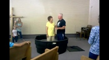 Baptism - June 24, 2012