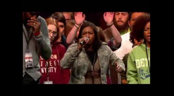 Urban Missionaries Prayer at The Call Detroit 11.11.11.(@EagleTalk101)