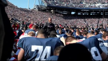 Pre-Game Prayer at Penn State