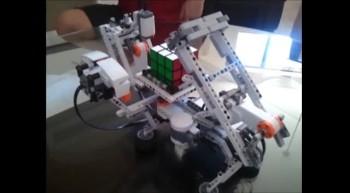 Mindstorm's Rubiks Cube Solver