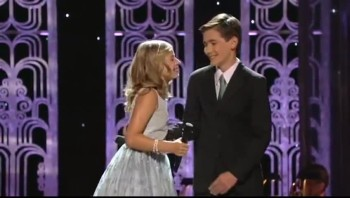 Breathtaking! Jackie Evancho Sings With Her Older Brother - I See The Light