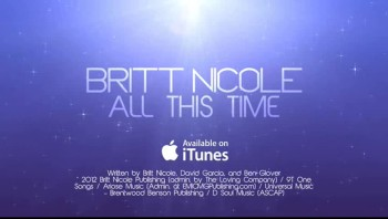 Britt Nicole - All This Time (Lyric Video)