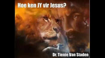 Soteria - Hoe ken JY vir Jesus?