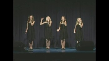 Talented Young Girls Sing Amazing Grace Like You've Never Heard Before! (The Cactus Cuties)
