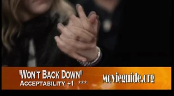 WON'T BACK DOWN review