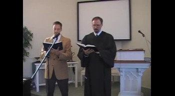 "Hymn: ""I Love to Tell the Story,"" Waggoner & MacLaren, First OPC Perkasie, PA 9/30/12"