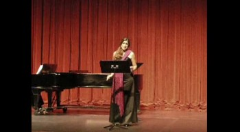 """Opera Singer sings """"Porgi Amor"""