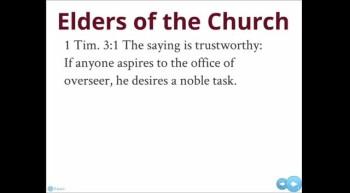 Elders of the Church 9/30/12
